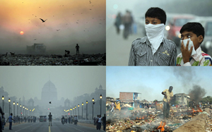 インド大気汚染