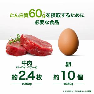1日の必要タンパク質