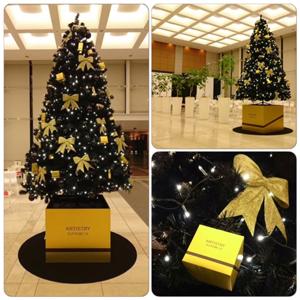 本社クリスマスツリー2015