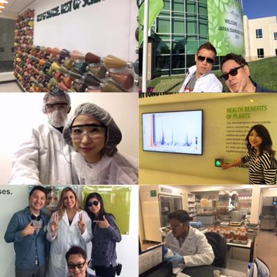 オプティマルヘルスセンター訪問2016