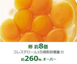 食材で摂るタンパク質量卵