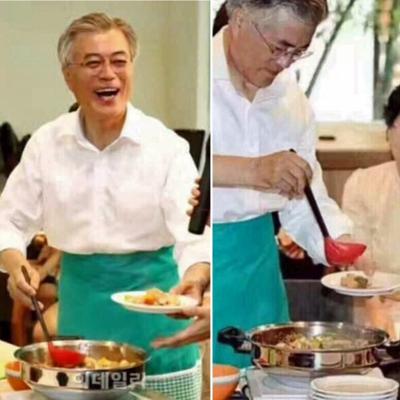 韓国大統領とウォック